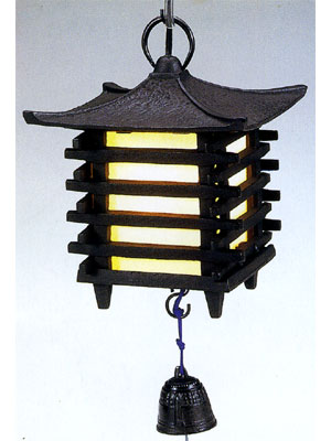 吊灯籠 角形コード付