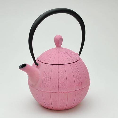 急須ティーポット胡桃(0.5L) 桜ピンク